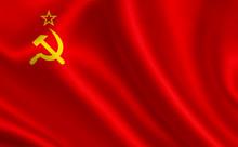 Soviet Union Flag (USSR).  A S...