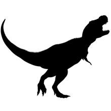 Tyrannosaurus Silhouette Vecto...