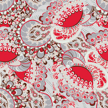Seamless Floral Abstract Ethni...