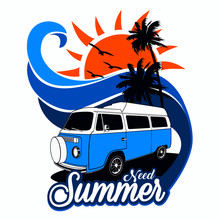 Need Summer Vector Graphic Des...
