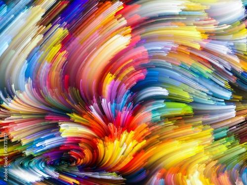 Fototapeta Rainbow obraz na płótnie