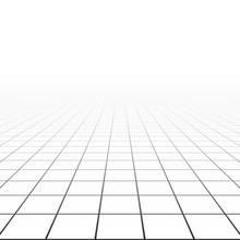 Abstract Background With A Perspective Grid. Vector Illustration.