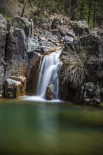 Gordon Creek Falls On The Mong...