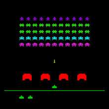 Game With Space, Invaders, Ali...