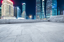 Shanghai Lujiazui And Urban Road