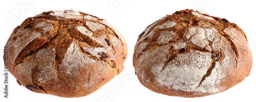 Fotografie, Obraz  Bread is the oldest man made by human for the needs of food produced from the seeds of the cultivated grain