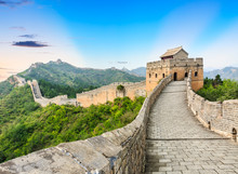 The Famous Great Wall Of China...