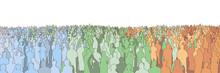 Illustration Of Large Mass Of ...