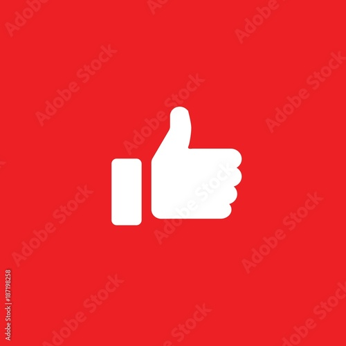Thumbs Up Like Symbol Human Hand For Nice Or Approved Vector Icon