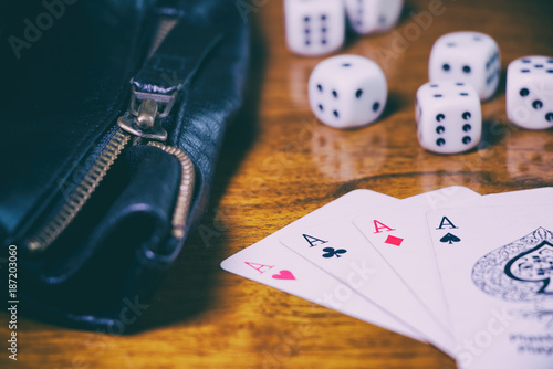 фотография  Gambling in casino