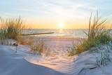 Fototapeta Landscape - Sonnenuntergang an der Ostsee