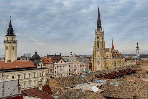 Fotografie, Obraz  Roman Catholic Cathedral in Novi Sad, Serbia