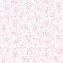 Seamless Pattern With Roses. F...