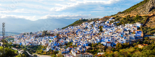 Spoed Foto op Canvas Marokko Chefchaouen, blue city, Morocco