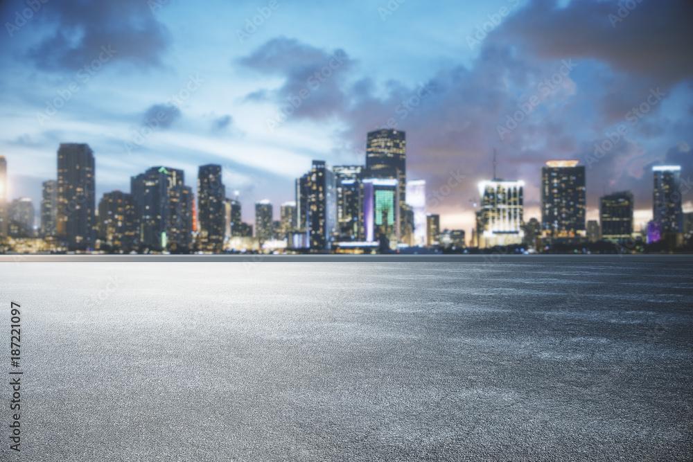 City skyline texture