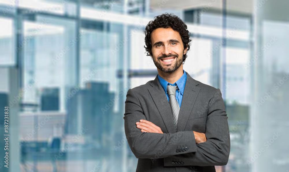 Fototapeta Smiling manager portrait