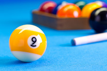 Billiard Pool Game Nine Ball W...