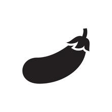 Aubergine Icon Illustration