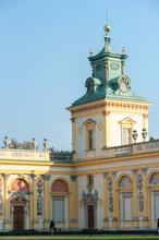 Wilanow Palace Warsaw Poland O...