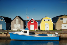 Oyster Barns In PEI