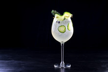 Gin And Tonic Alcohol Drink Co...