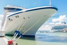 Cruise Ships Docked In San Juan, Puerto Rico