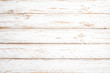 Leinwandbild Motiv Vintage white wood background - Old weathered wooden plank painted in white color.