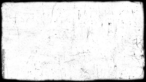 Obraz Abstract dirty or aging film frame. Dust particle and dust grain texture or dirt overlay use effect for film frame with space for your text or image and vintage grunge style. - fototapety do salonu