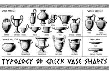 Greek Vessel Shapes.