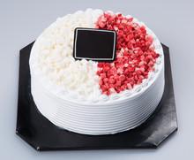 Cake Or Ice Cream Cake On A Ba...