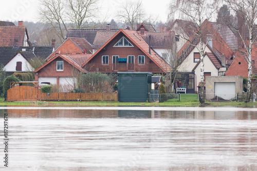 Plakat powódź