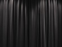 Stage Curtain Black Curtain Ba...
