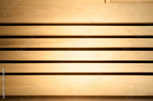Light Wooden Wall In Sauna Natural Background Texture Toned