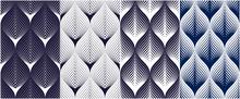 Abstract Lines Geometric Seaml...