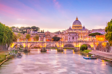 Fototapeta St Peter Cathedral in Rome, Italy