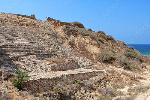 Canaanite city gate at Ashkelon, Israel, Middle East Wallpaper Mural