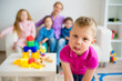 Children in kindergarten