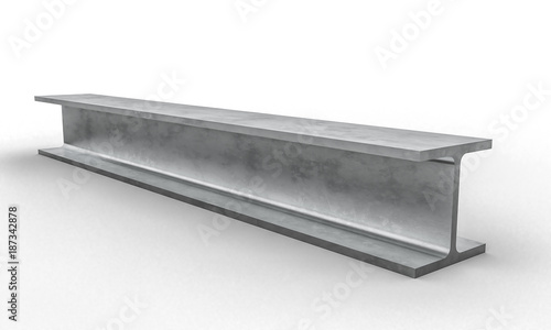 Obraz steel metal beam 3d - fototapety do salonu
