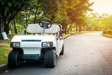 Electric Golf Cart Without Roo...