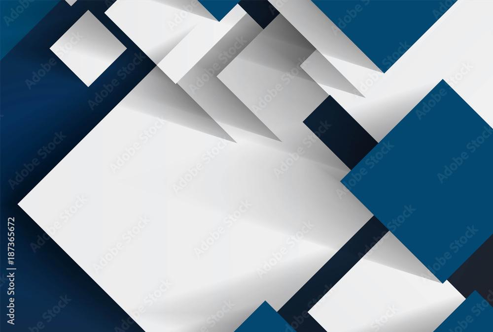 Fototapety, obrazy: Squares design background