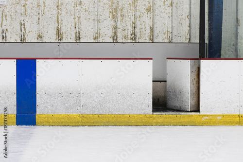 Photo Hockey Ice Rink Wall