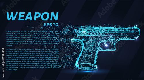 Fotografía  The gun of the particles