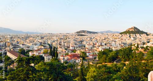 Zdjęcie XXL Pejzaż Ateny.