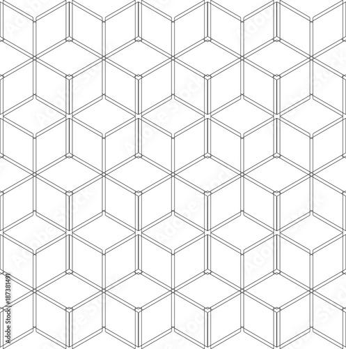 geometryczny-wzor-struktura-szkieletowa-3d