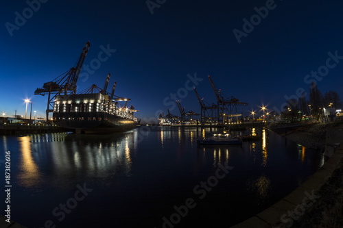 Canvas Prints Antwerp marine logistik