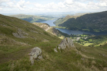 View From Helvellyn Lake Distr...