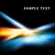 Abstract background with shiny fractal