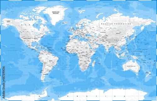 mapa-swiata-fizyczny-bialy-wektor