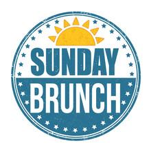 Sunday Brunch Grunge Rubber St...