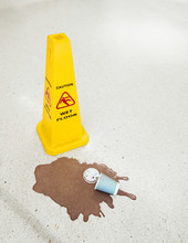 Wet Floor. Someone Spilled The...